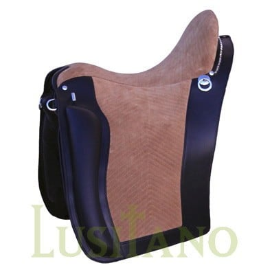 Portuguese equitation saddle