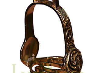 Traditional Portuguese baroque stirrups
