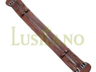 Equestrian leather girth